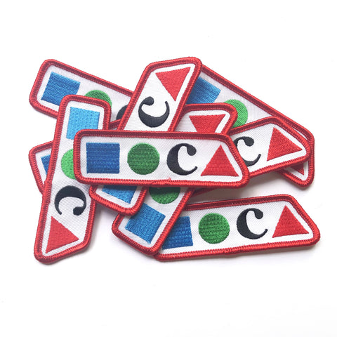 MOCA Embroidered Patch