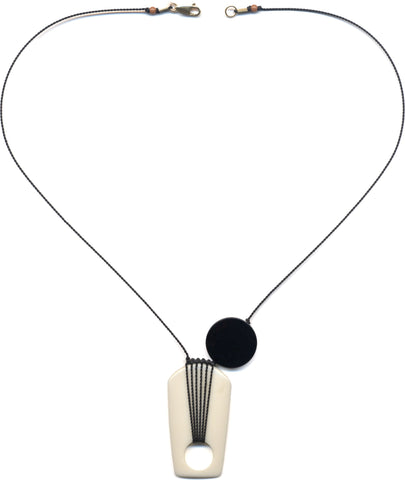 Moon Shadow Necklace by I. Ronni Kappos