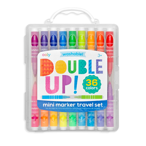 Double Up 2-in-1 Mini Markers Set of 36