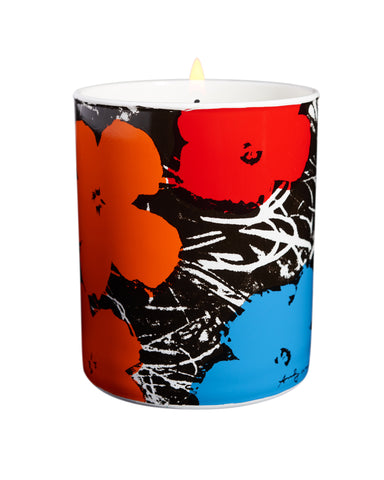 Andy Warhol Flower Candles