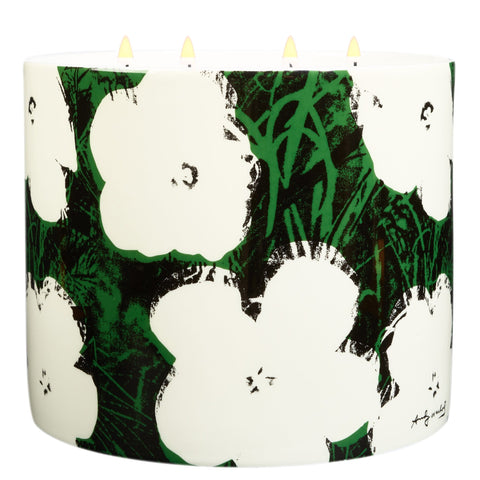 Andy Warhol Giant Flower Candle