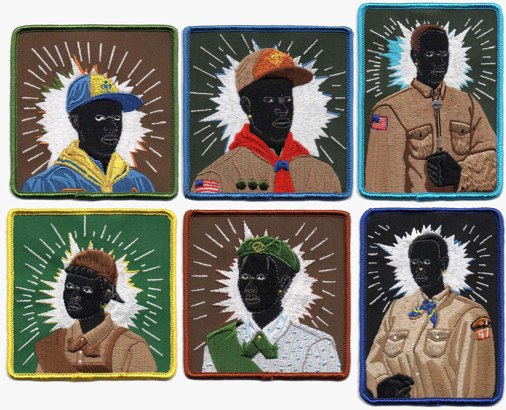 Kerry James Marshall Scout Series Embroidered Patch Set of Six