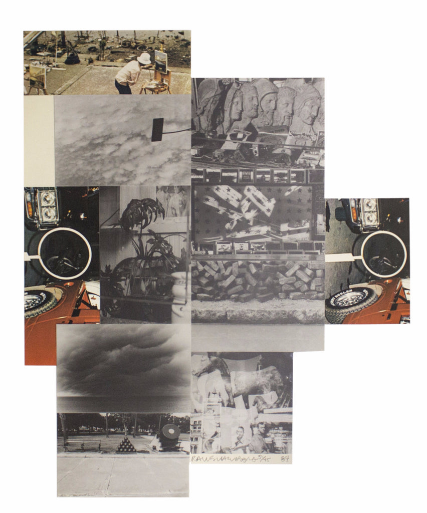 Robert Rauschenberg Limited Edition Print: Untitled