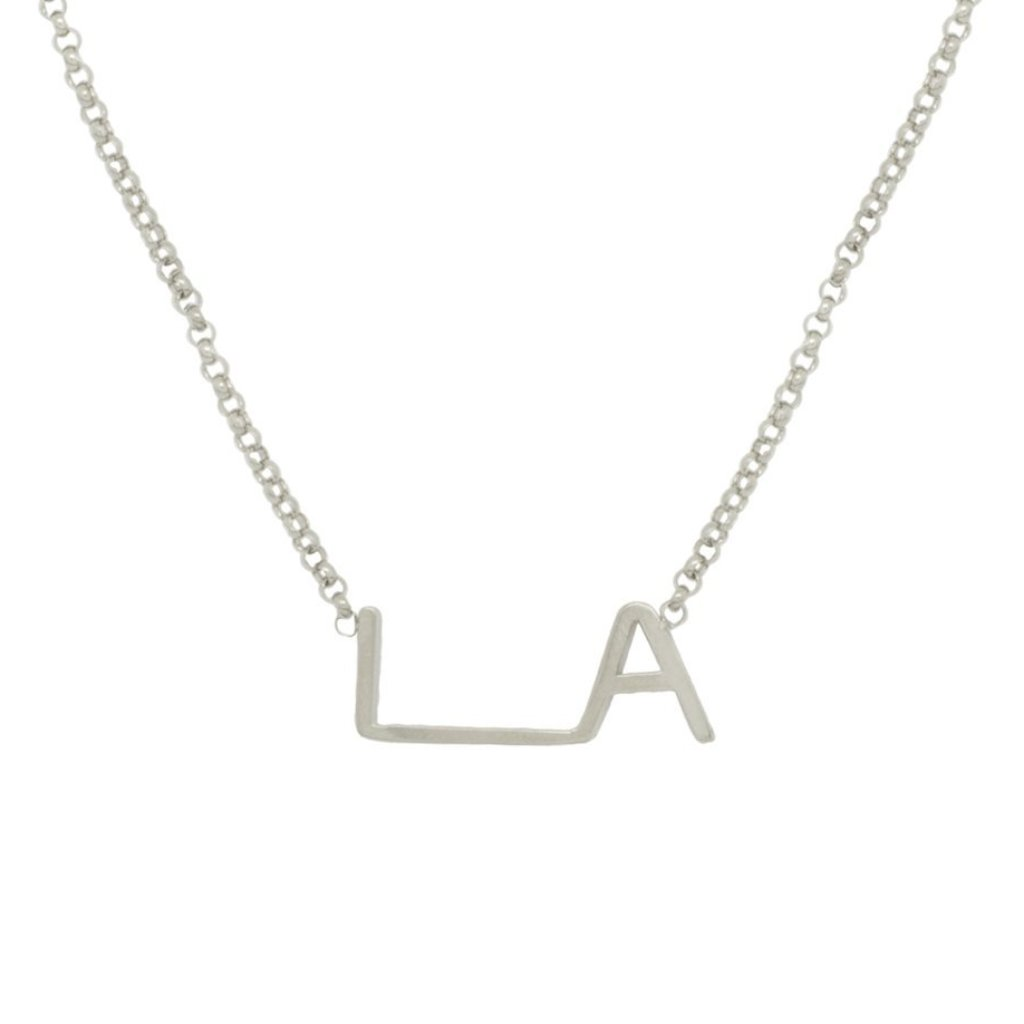 Maya Brenner LA Original Logo Necklace