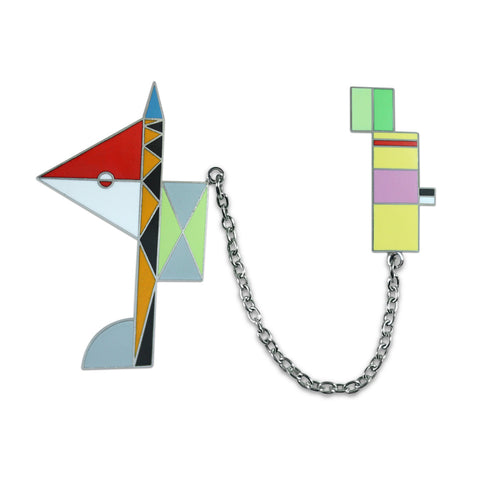 Peter Shire for ACME Skyhook 2 Brooch