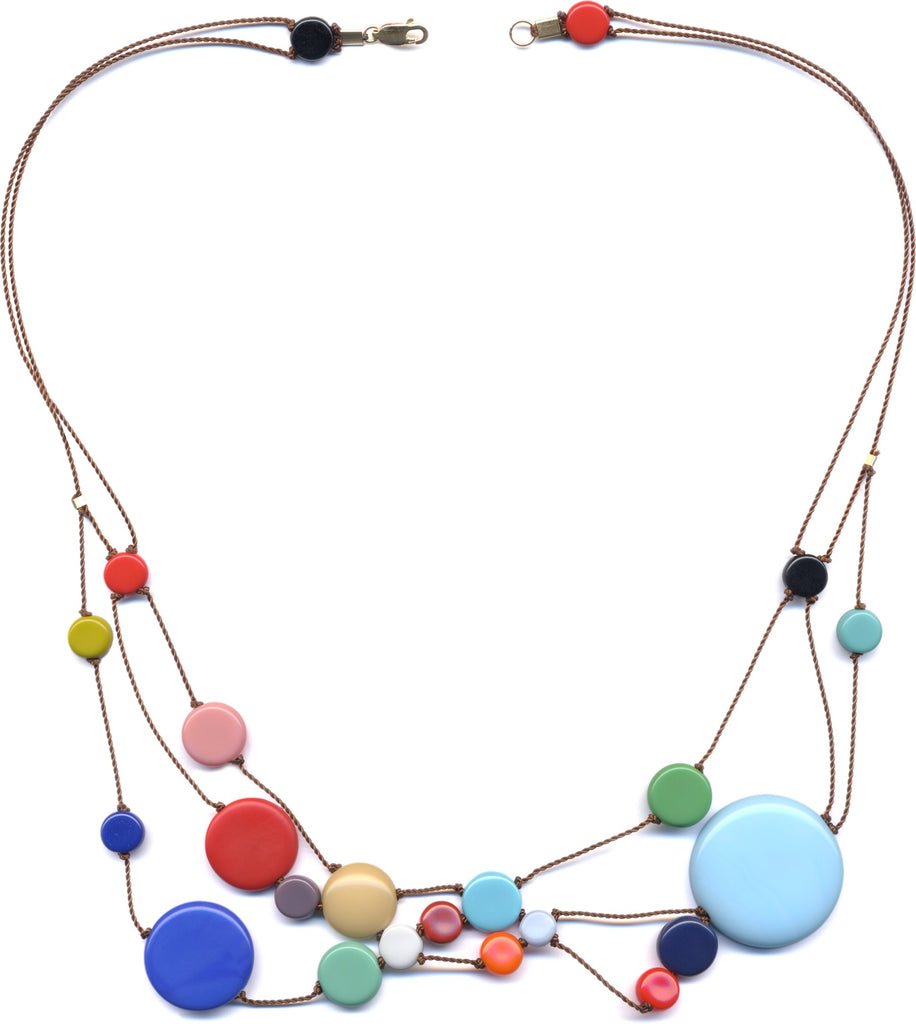 Solar System Necklace by I. Ronni Kappos