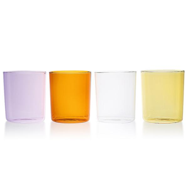 Colorful Glass Tumblers