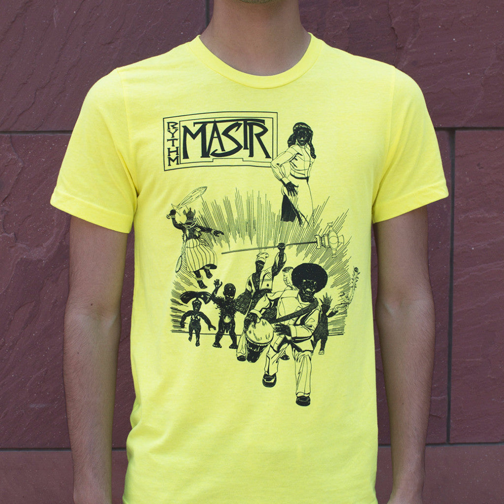 Kerry James Marshall Rythm Mastr Neon T-Shirt