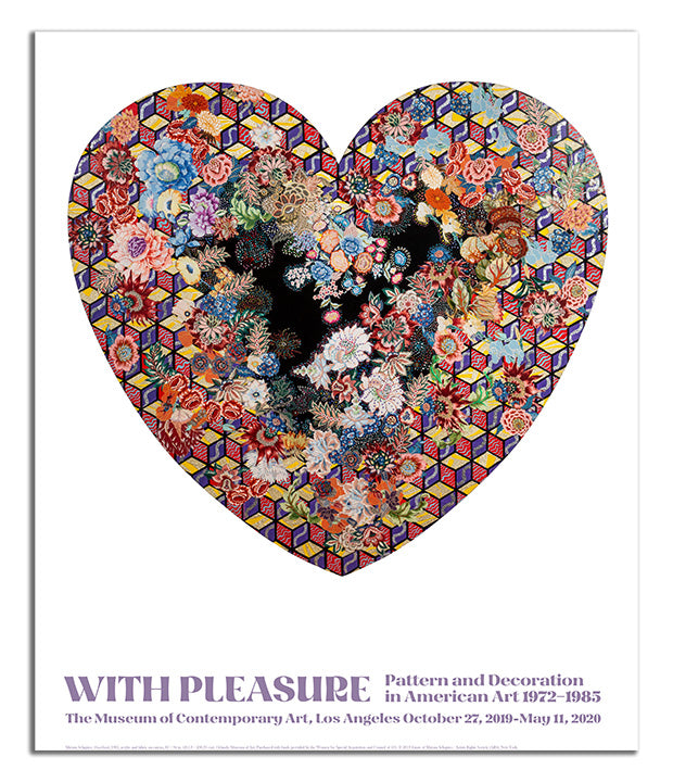 With Pleasure: Pattern and Decoration Poster