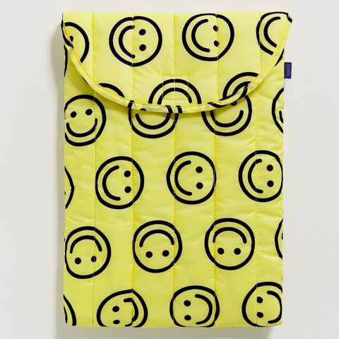 "Puffy Laptop Sleeve - 16"" in Happy Yellow from Baggu"