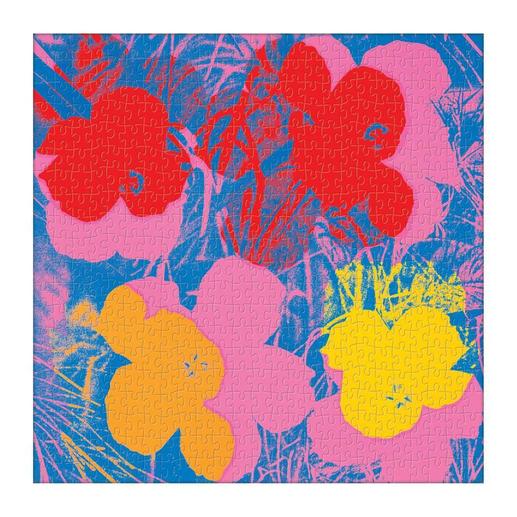 Andy Warhol Flowers 500 Piece Puzzle