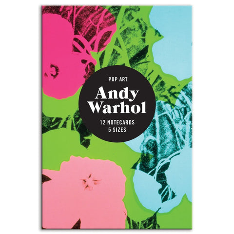 Andy Warhol Pop Art Notecard Set