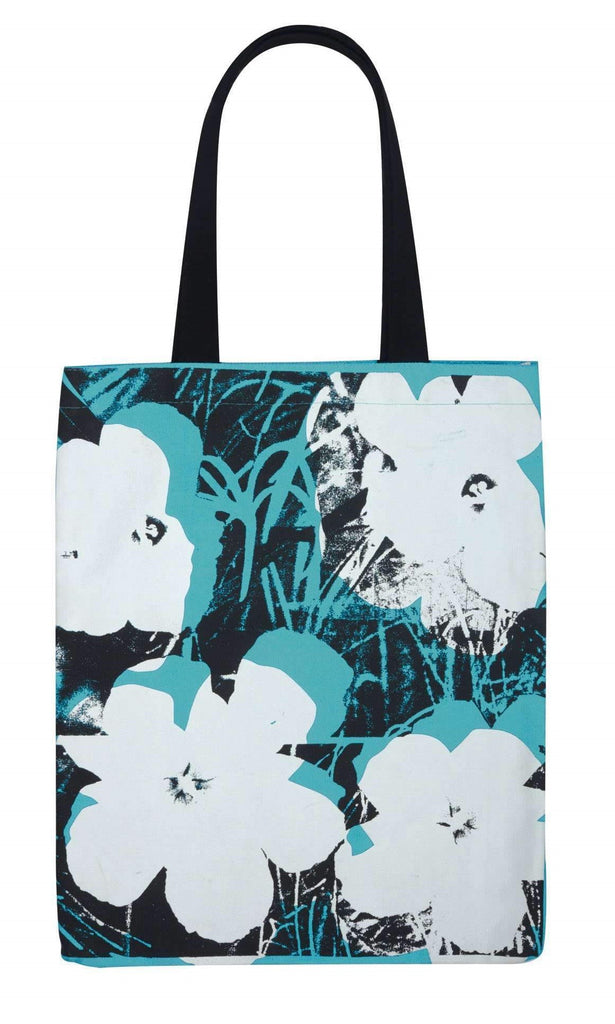 Andy Warhol Poppies Tote with Buttons