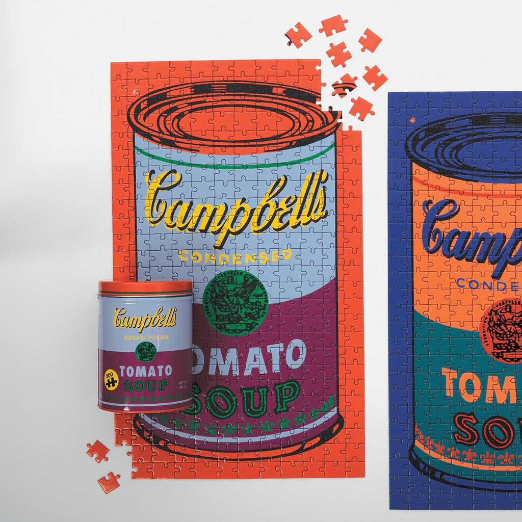 Andy Warhol Soup Can Puzzle 300 Piece