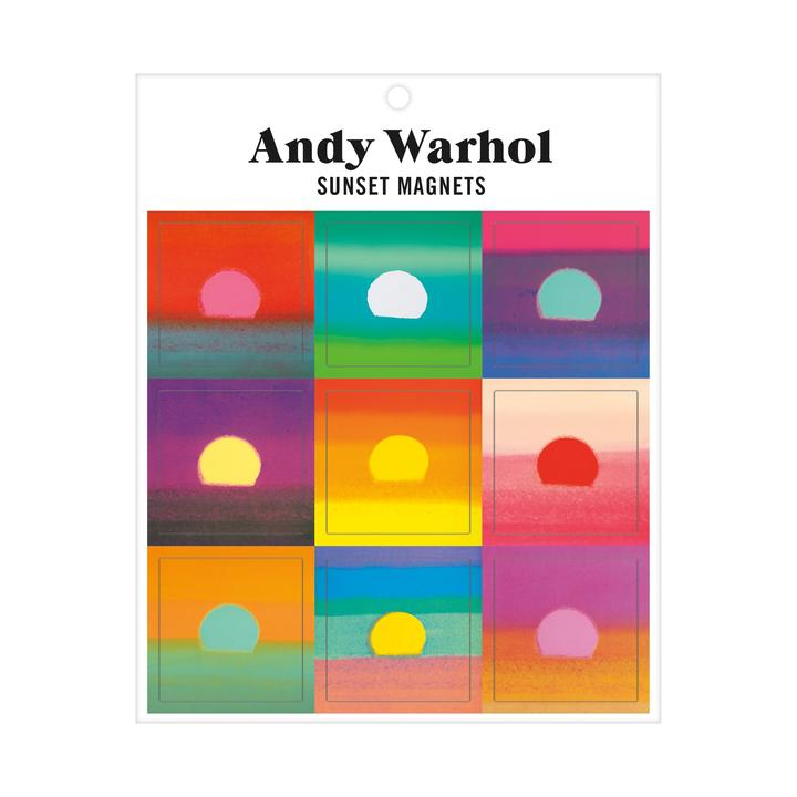 Andy Warhol Sunset Magnets