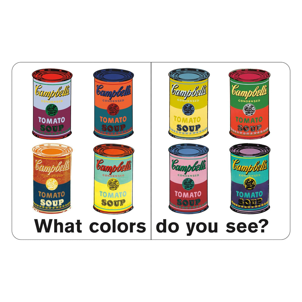 Andy Warhol What Colors Do You See? Board Book