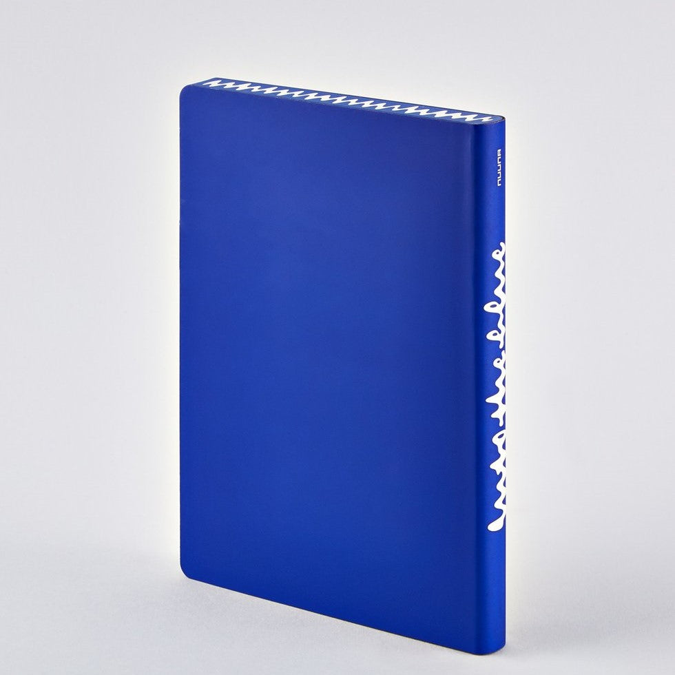 Into the Blue Notebook from Nuuna