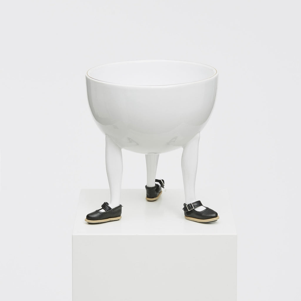 Leg Bowl with Building Block Shoes by Chen Chen + Kai Williams