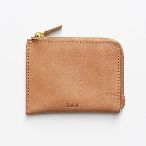 Leather Zip Wallet by 8.6.4