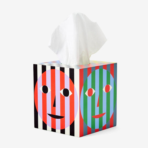 Everybody Tissue Box by Dusen Dusen for Areaware