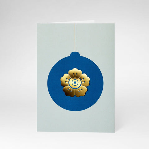 Greeting Card Christmas Flower