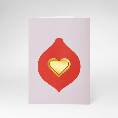 Greeting Card Christmas Heart