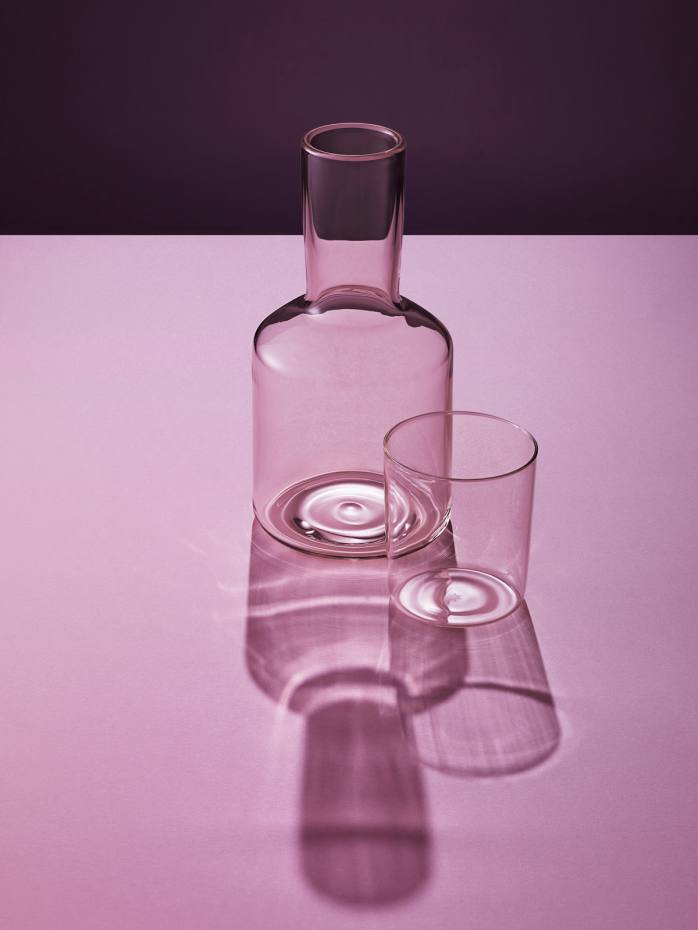J'ai Soif Carafe and Tumbler
