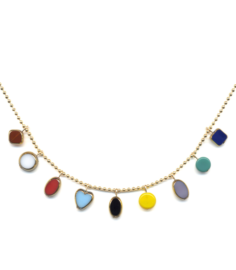 Mini Charms Necklace by I. Ronni Kappos