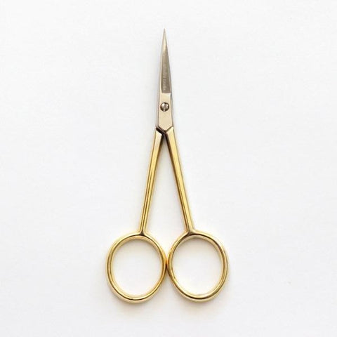Silhouette Scissors with Gold Handle