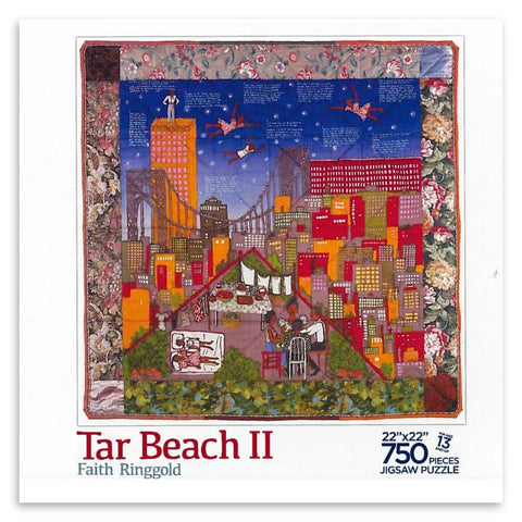 Tar Beach II by Faith Ringgold 750 Piece Jigsaw Puzzle