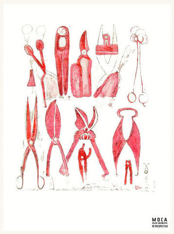 Louise Bourgeois: Tea Towel Tools