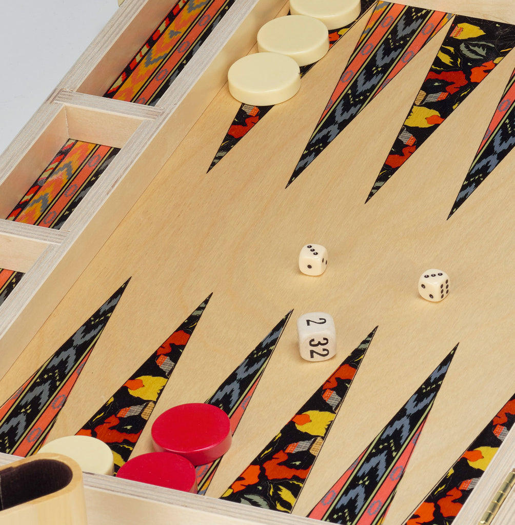 Tabletop Backgammon Set by Wolfum