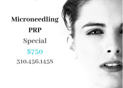 CURE'S Microneedling and PRP Special