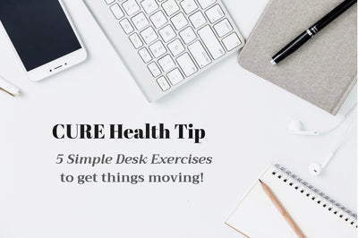 5 Simple Desk Exercises to Rev Up Your Health