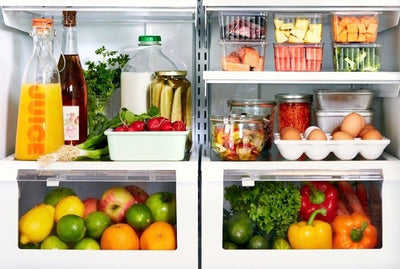 Organize your fridge for healthy eating