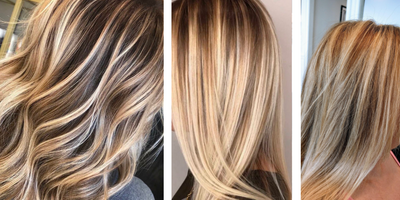 Natural Looking highlights with Balayage