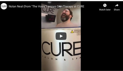 CURE'S CryoTherapy offers relief for a myriad of symptoms