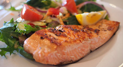 Lower your risk of heart disease with heart healthy salmon