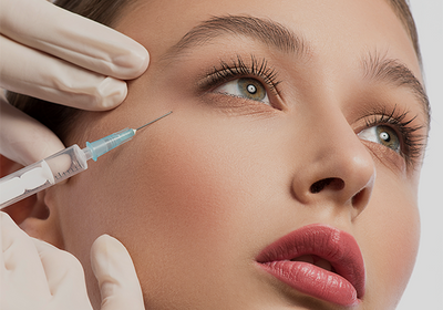 Rejuvenate facial skin with CURE's facial injectables