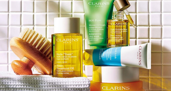 Clarins Skincare Top Picks
