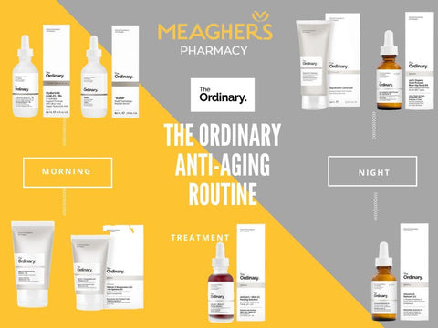 The Ordinary Skincare Routine for Ageing Skin