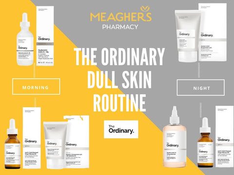 The ordinary dull skin routine