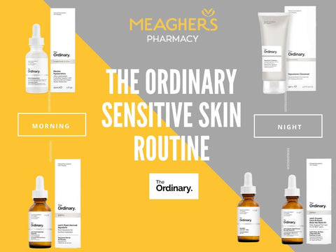 Sensitive Skin Routine The Ordinary