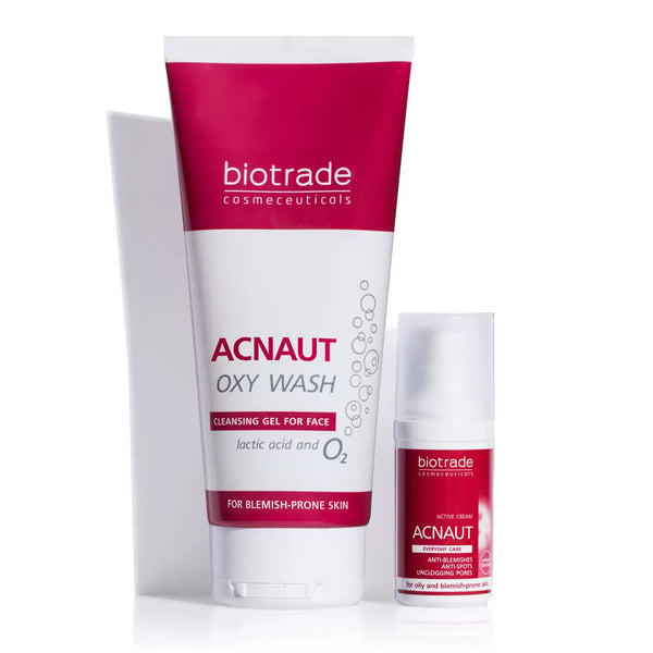 Acnaut Active Cream & Cleansing Gel Kit