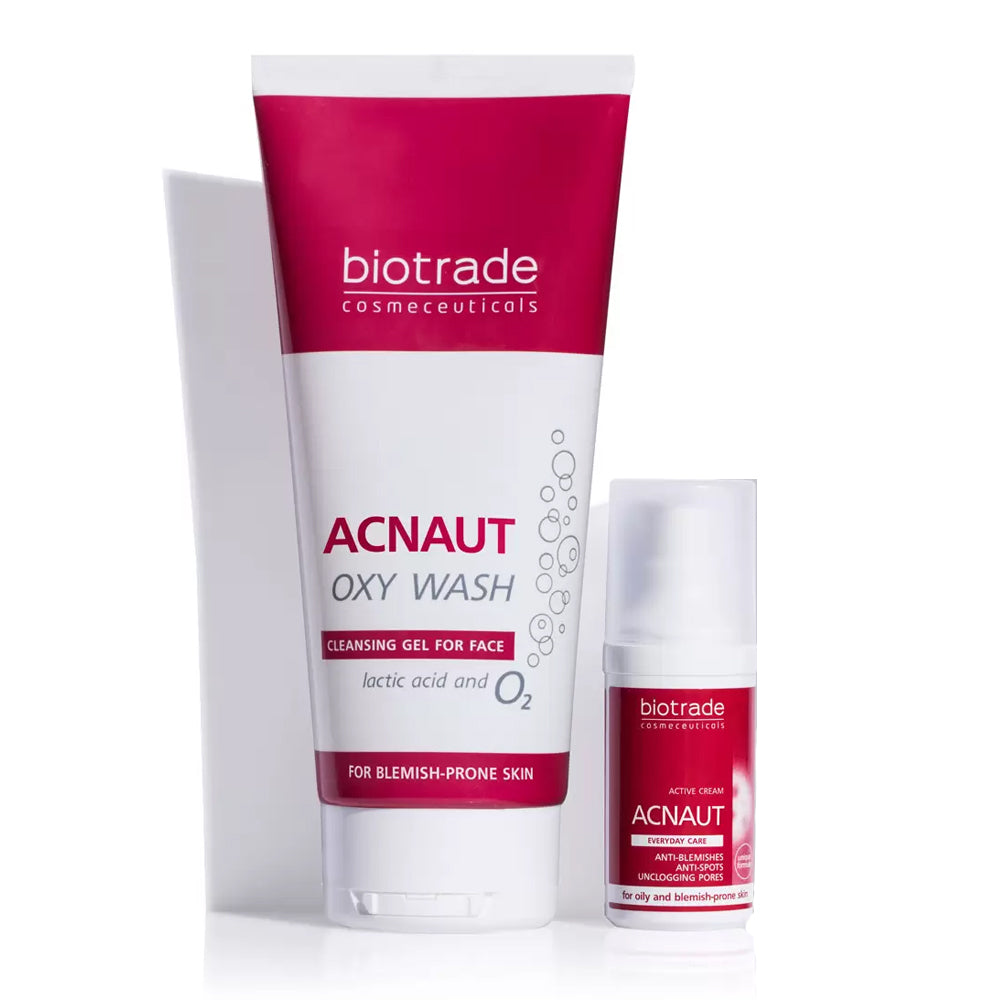 Load image into Gallery viewer, Acnaut Active Cream & Cleansing Gel Kit