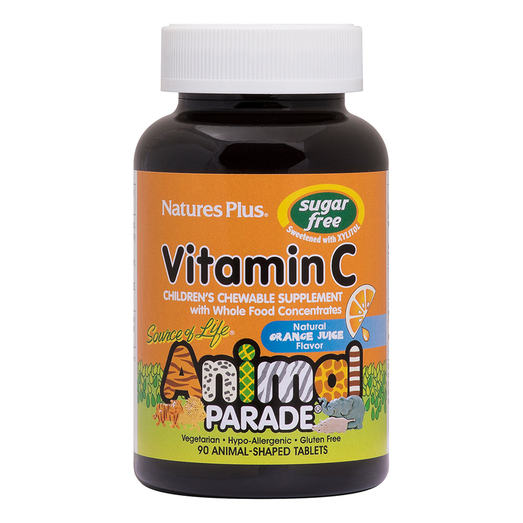 Load image into Gallery viewer, Nature's Plus Animal Parade® Sugar Free Vitamin C Childrens Chewable 90's