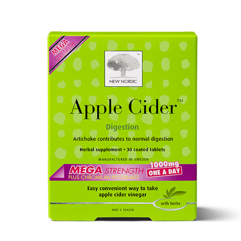 New Nordic Apple Cider Mega Strength 1000mg