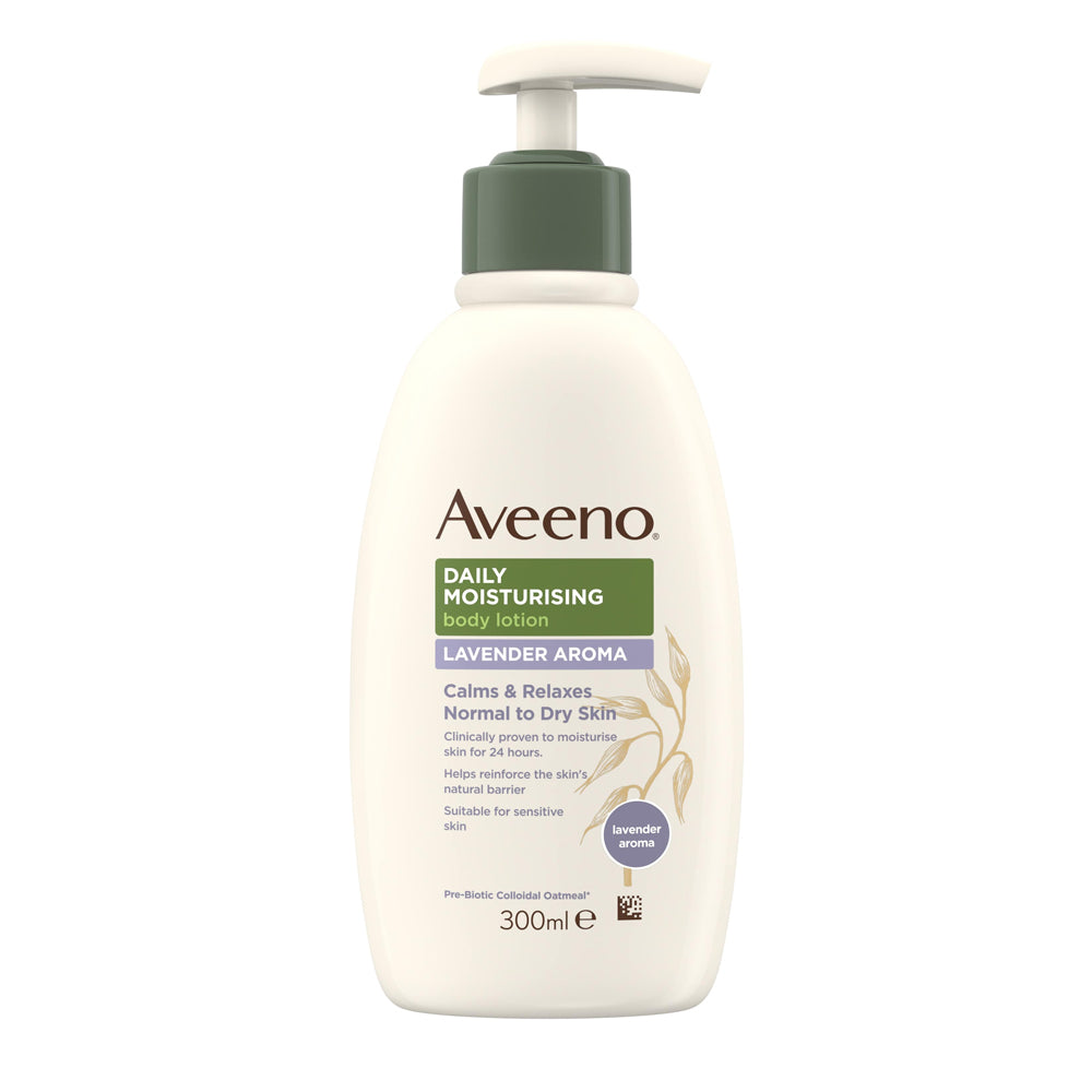 Load image into Gallery viewer, Aveeno Daily Moisturising Lavender Aroma Body Lotion