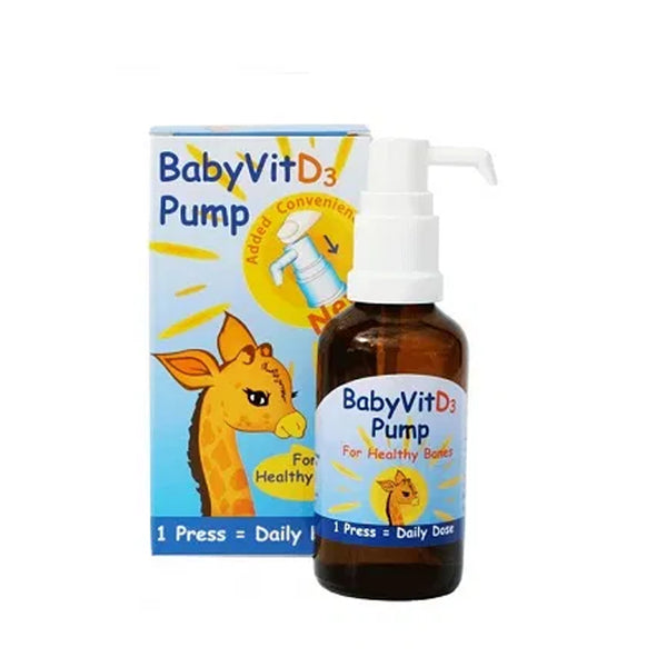 BabyVit D3 Pure Vitamin D3 Pump