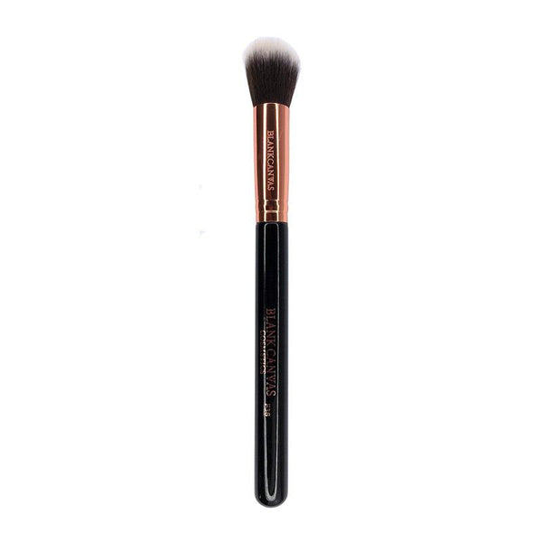 Blank Canvas F36 Dome Powder Brush Rose Gold/Black
